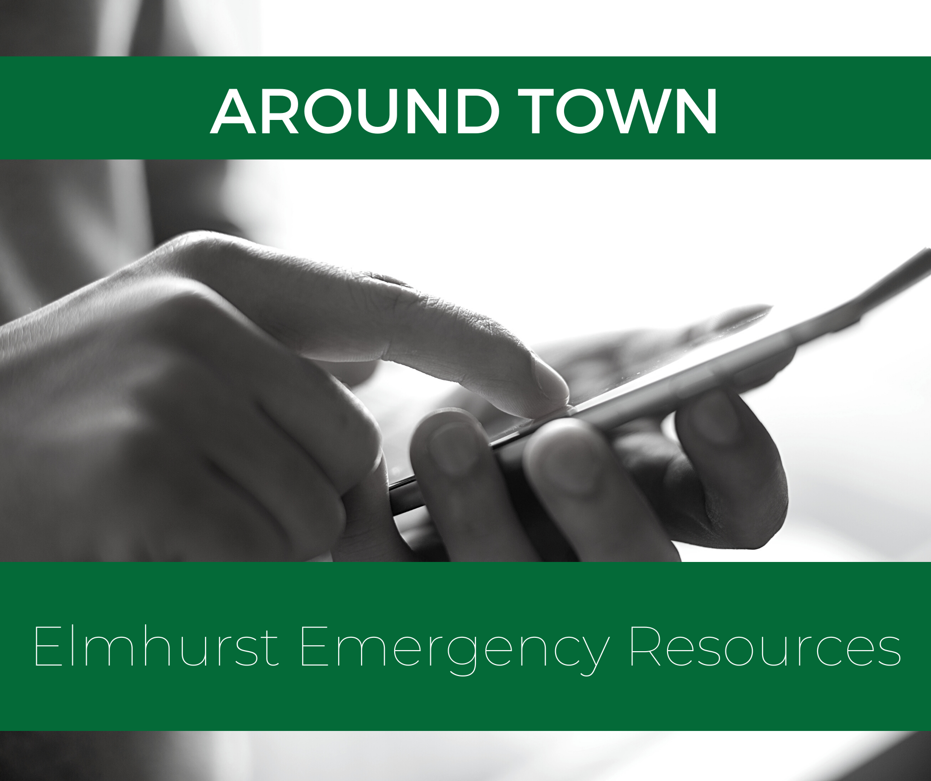 Around Town: Ways to Help While #ElmhurstStaysHome