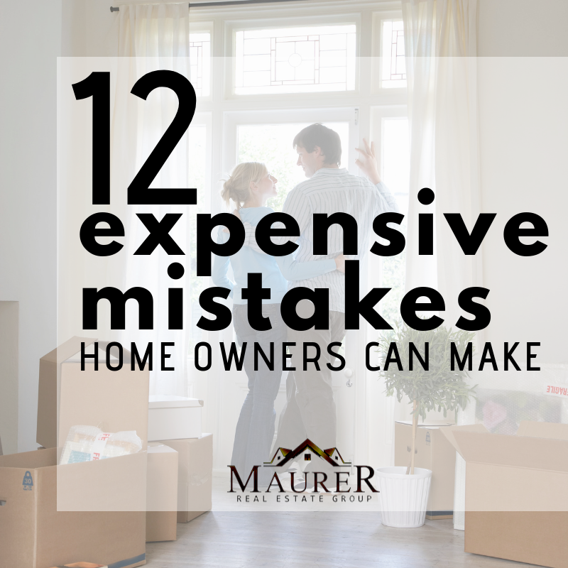 12 mistakes homeowners make