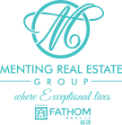 Menting Real Estate Group with Fathom Realty Logo