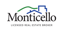 Monticello Licensed Real Estate Broker Logo