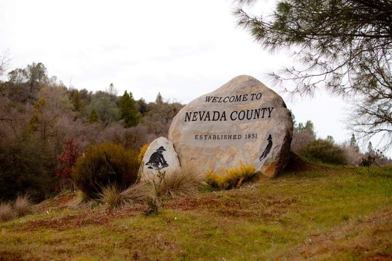 Welcome to Nevada County Sign