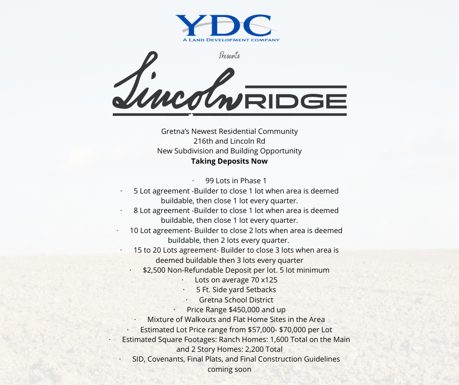 About Lincoln Ridge- Builders
