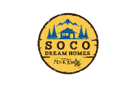 SOCO Dream Homes -Pink Realty Logo