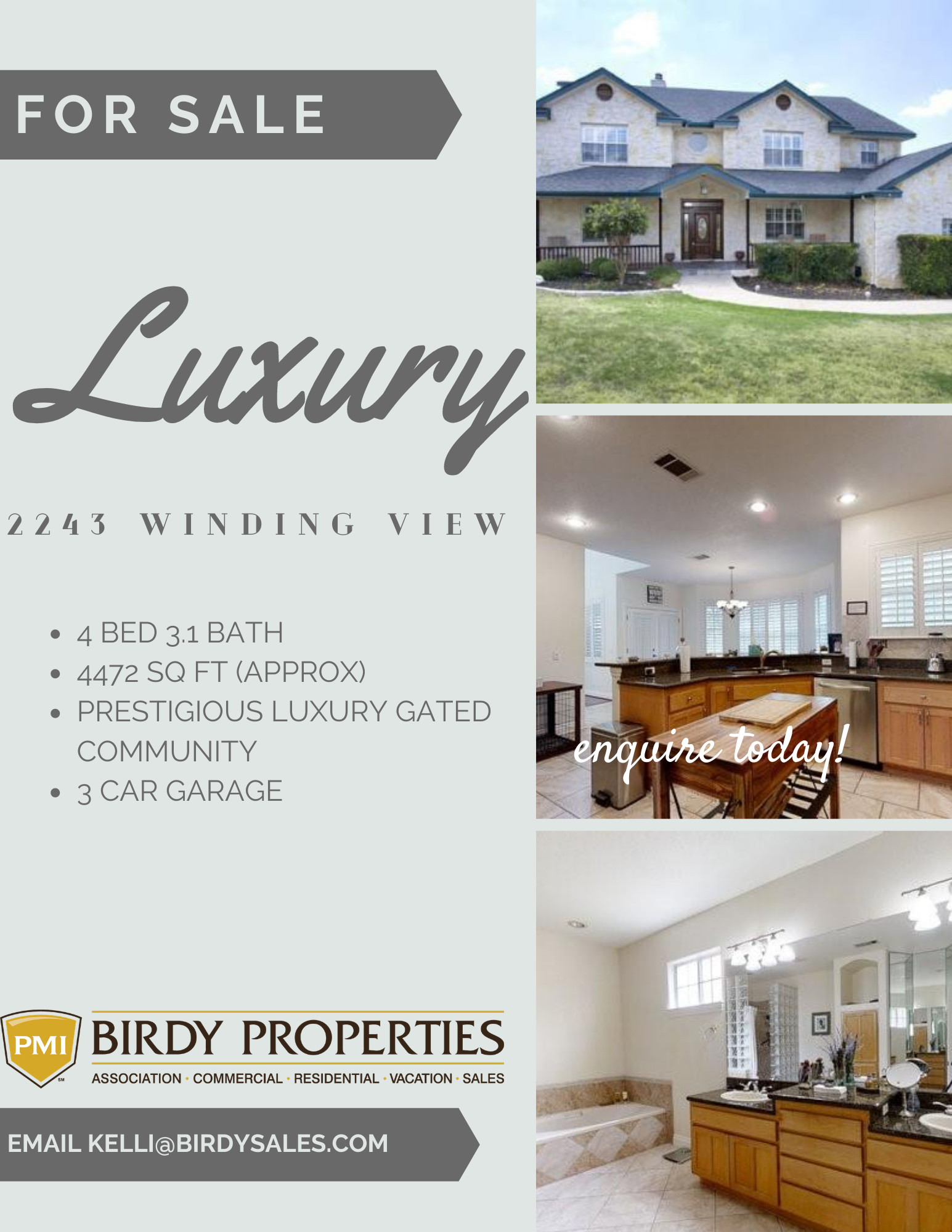 For Sale 2243 Winding View