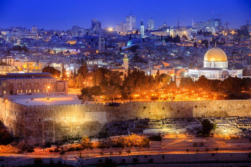 Cityscape in Jerusalem