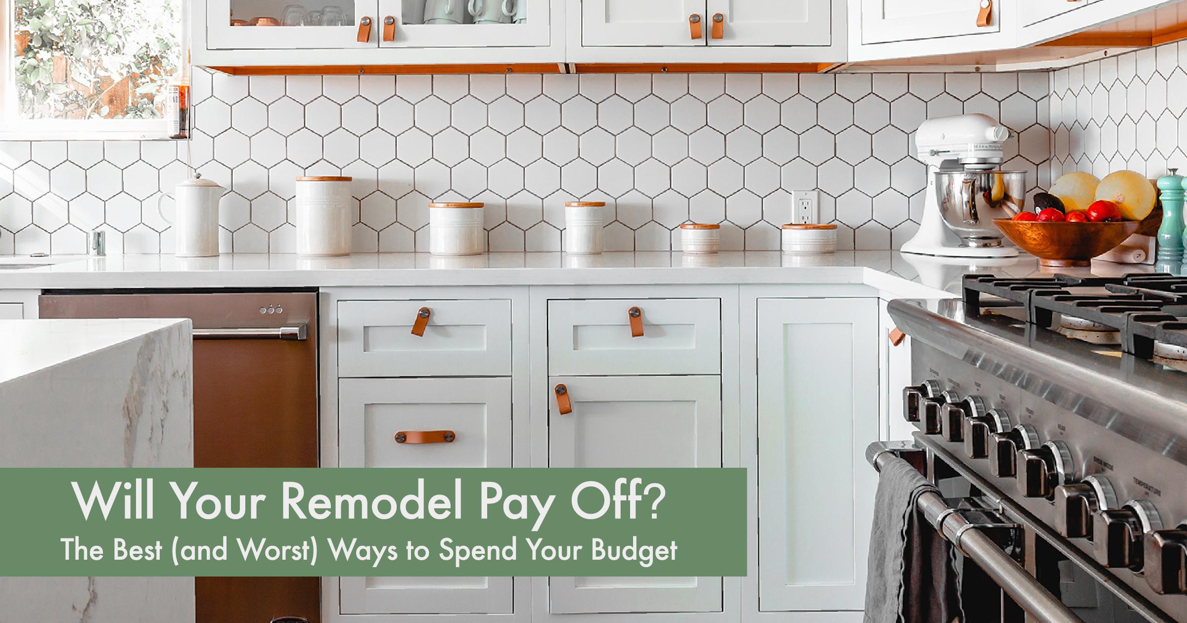Remodel Cost vs Value