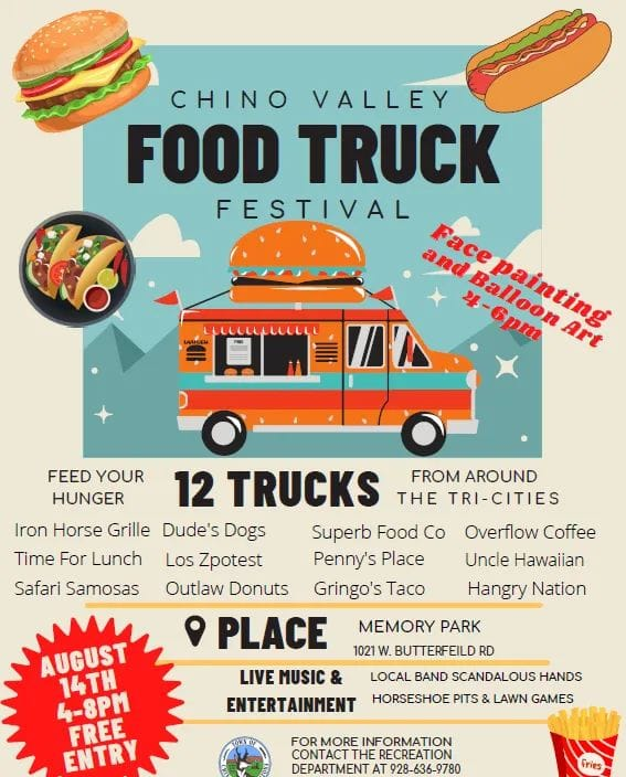 Food Truck Event in Chino Valley