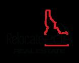 Relocate 208 Real Estate Logo