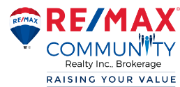 RE/MAX Community Realty Inc. Logo