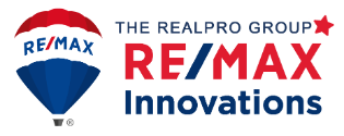 The RealPro Group - RE/MAX Innovations Logo