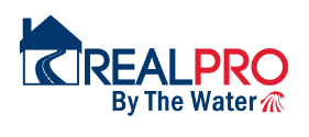 REALPRO By The Water Logo