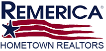 Remerica Hometown & Liberty Logo