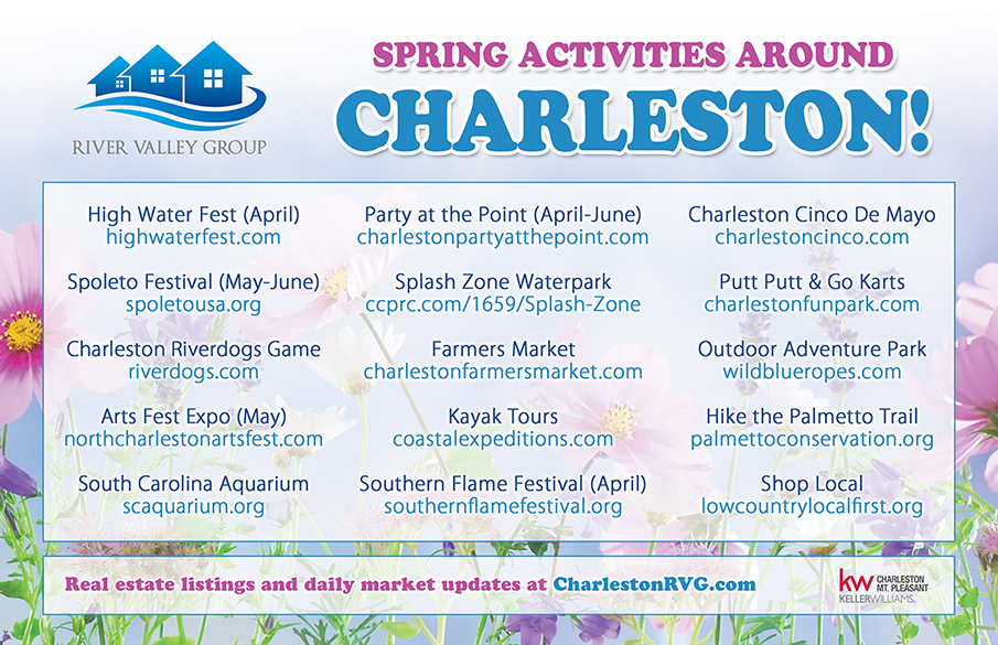 Spring events around Charleston!