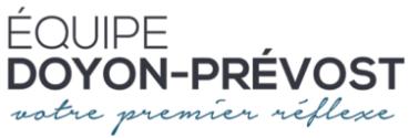 Équipe Doyon-Prévost Logo