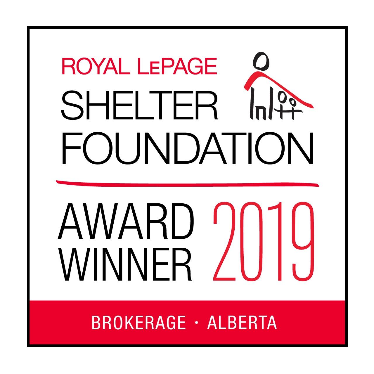 Royal LePage Shelter Foundation Logo 2019