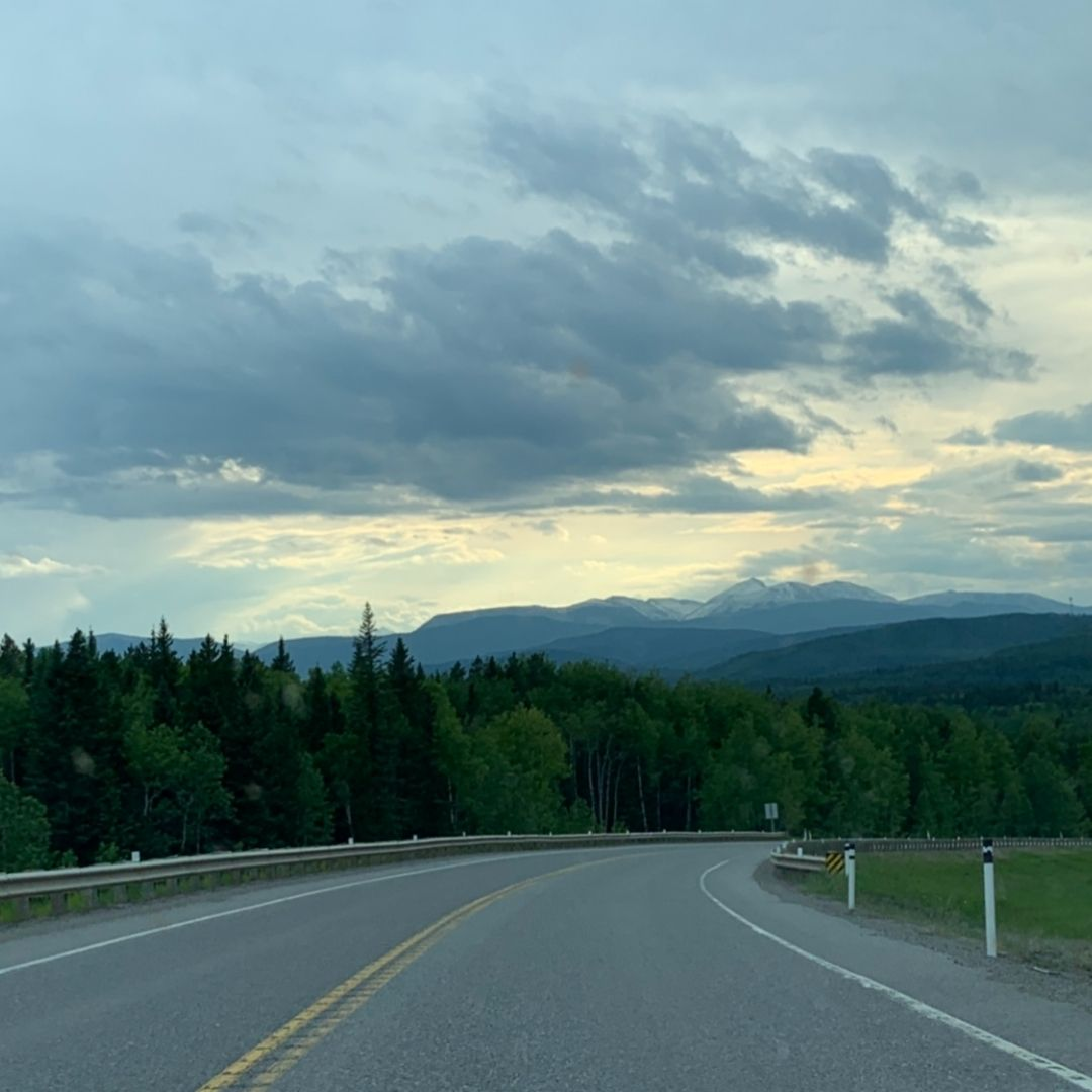 Foothills of Rocky Mountains