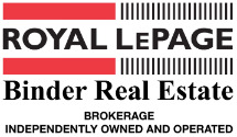 Royal LePage Binder R.E.- Tecumseh, Brokerage Logo