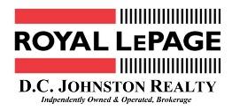 Royal LePage D.C. Johnston Realty, Brokerage Logo