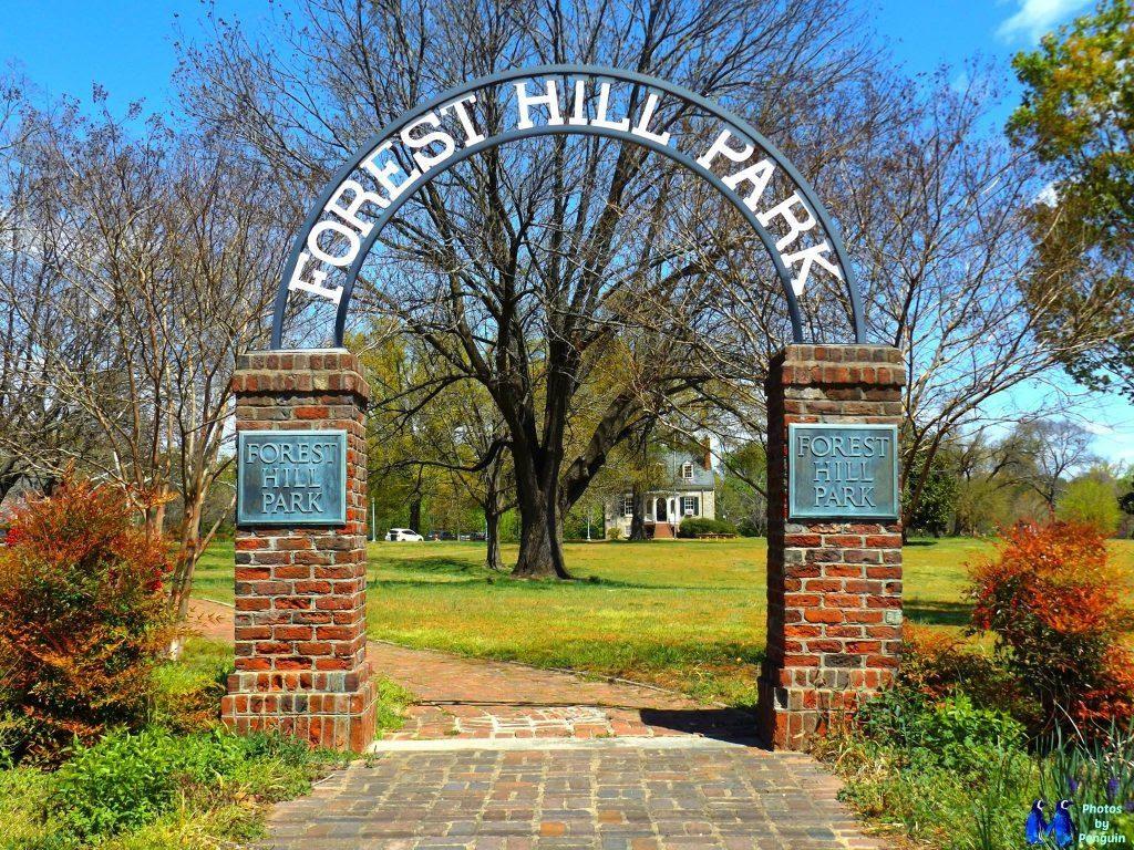Forest Hill Park Entrance