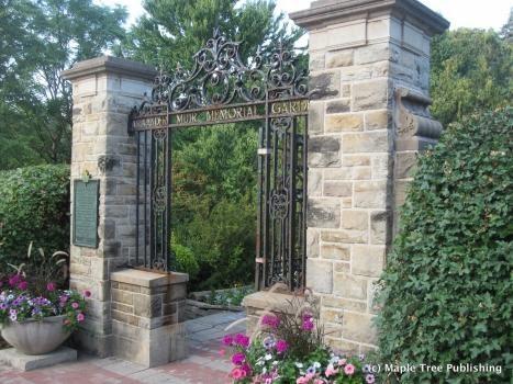 Stone Gated Park Entrance