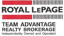 Royal LePage Team Advantage Realty, Brokerage Logo