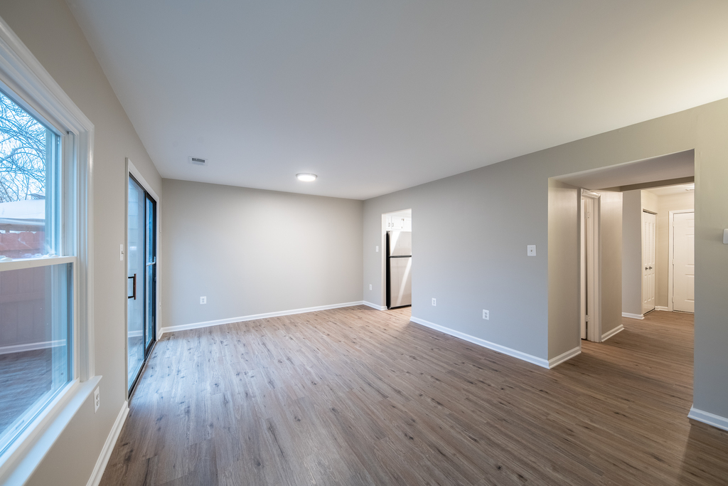 Living or Family Room Leads to Deck