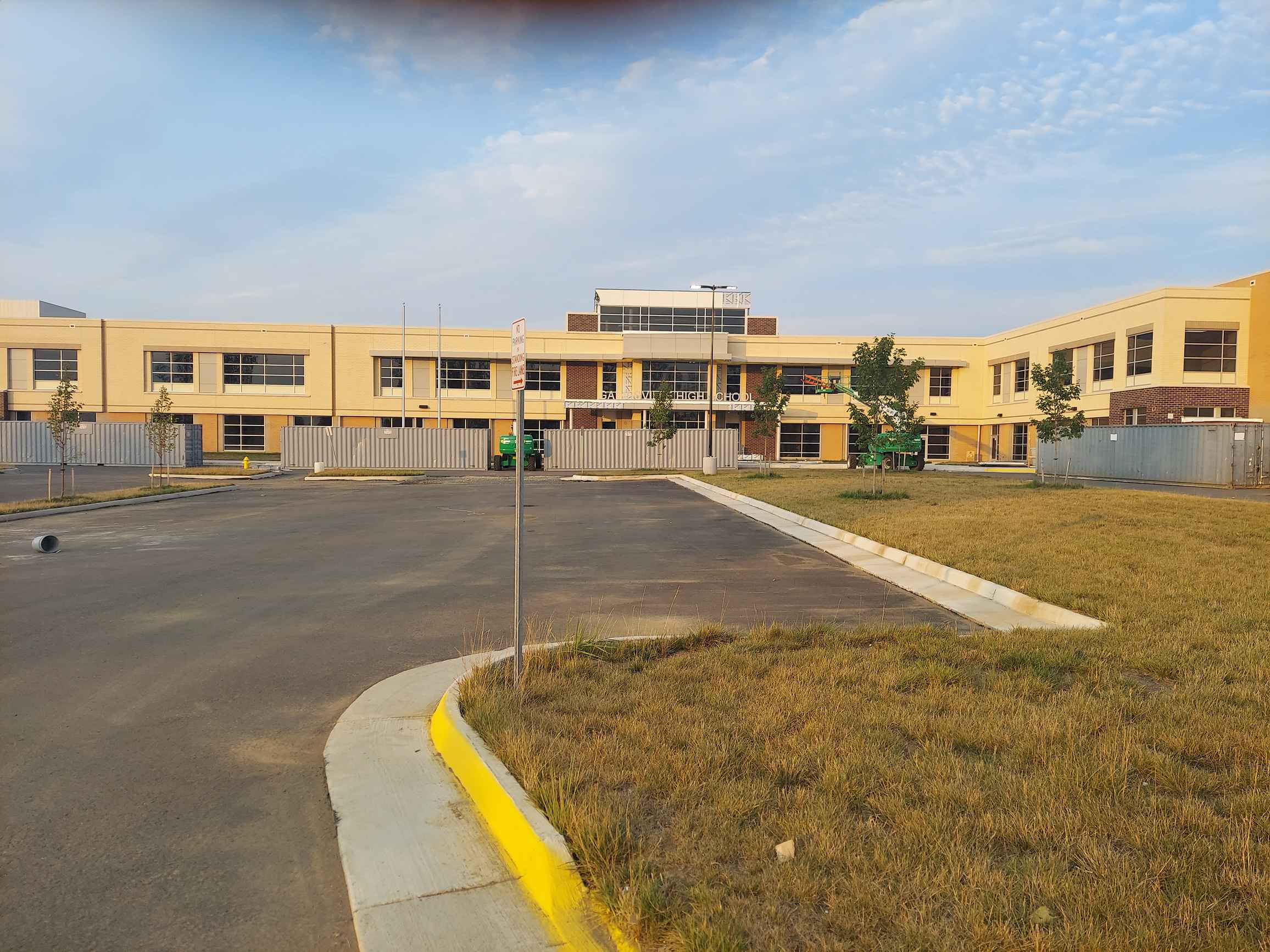 Gainesville High School in Gainesville Virginia