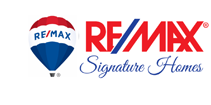 RE/MAX Signature Homes Logo