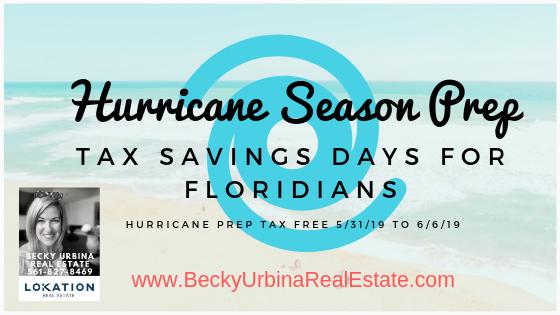 hurricane tax free