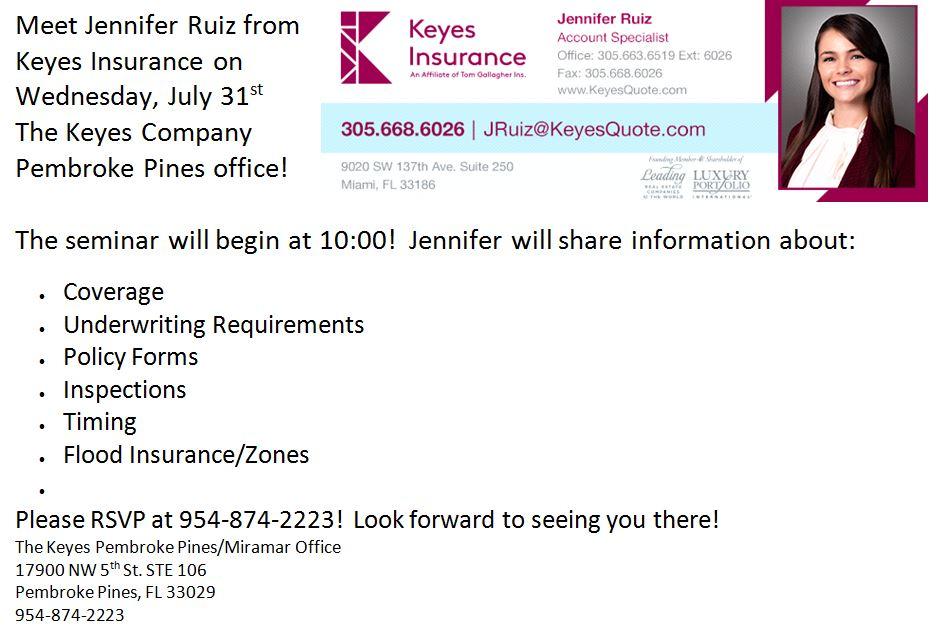 Keyes Insurance Seminar