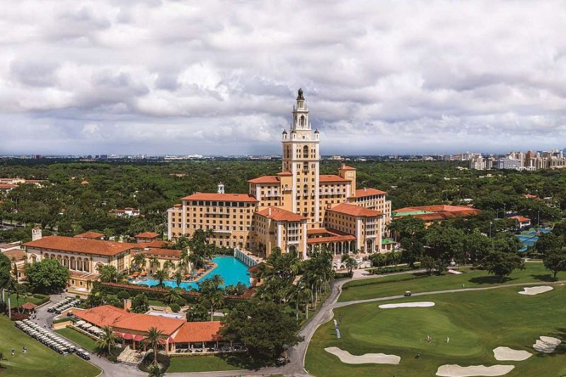 Tall Building in Coral Gables