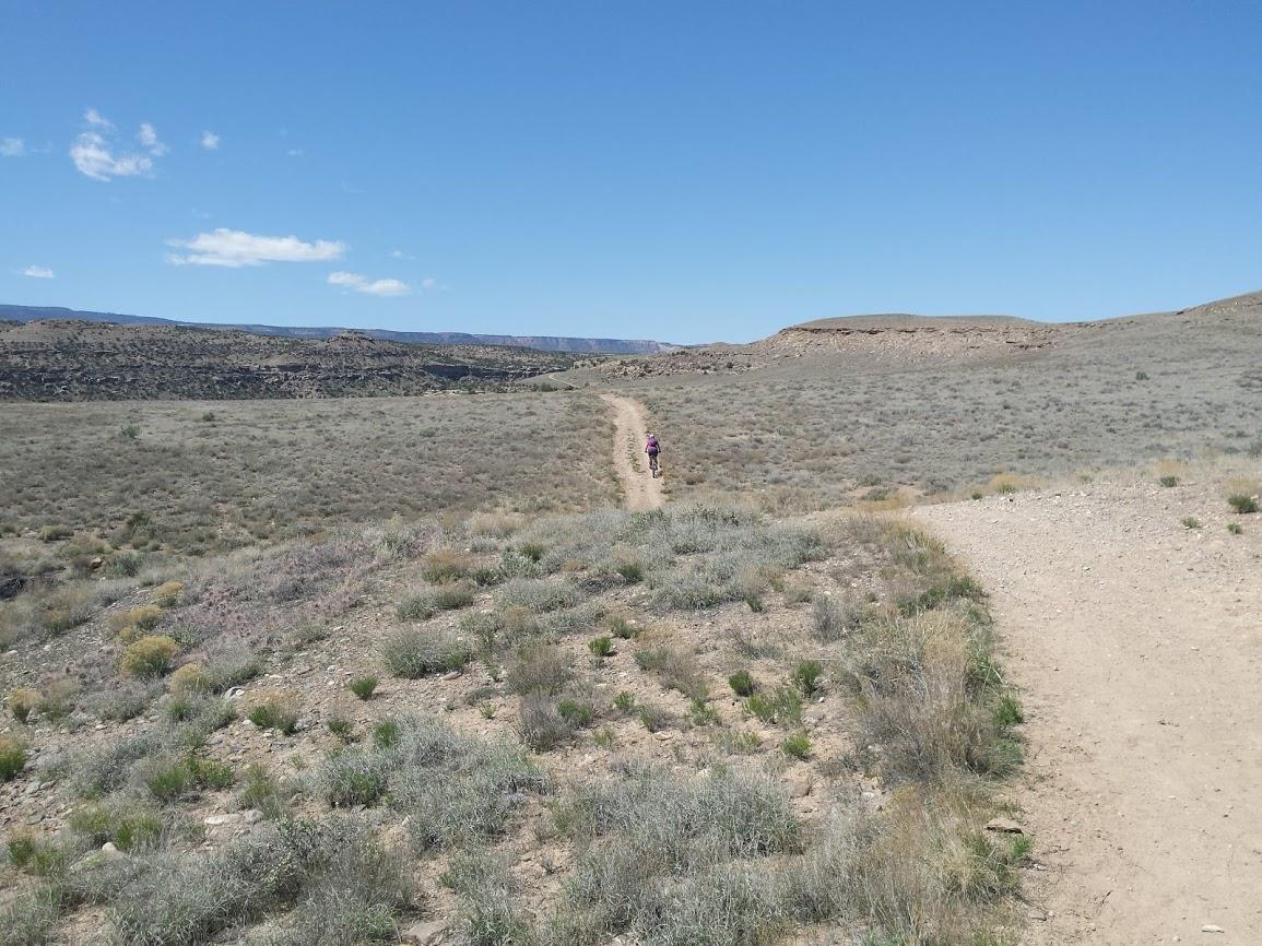 gunnison bluffs trail