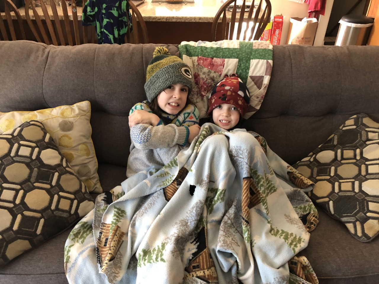 Max and ginn shivering