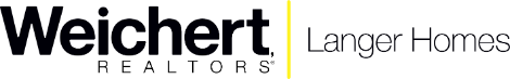 Weichert, Realtors® - Langer Homes Logo