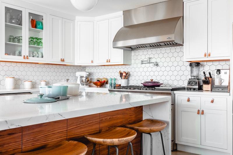 Rustic Kitchen in White