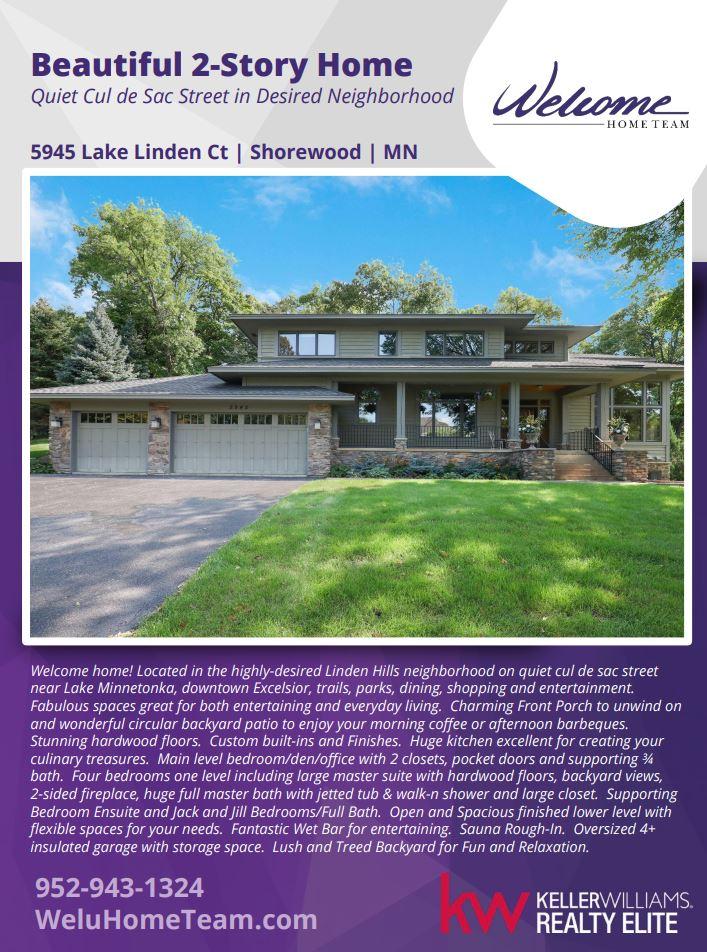 5945 Lake Linden Ct, Shorewood, MN 55331