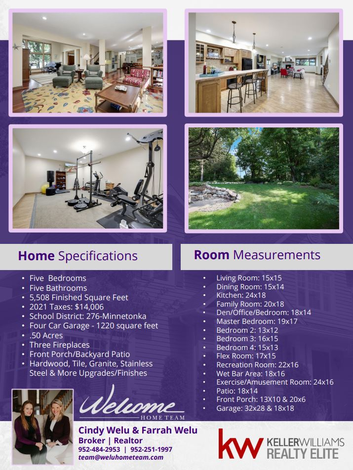 Home for Sale in Shorewood, MN