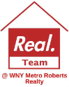 Real Team @ WNY Metro Roberts Realty Logo
