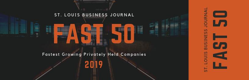 St. Louis Business Journal Fast 50 Award Winner