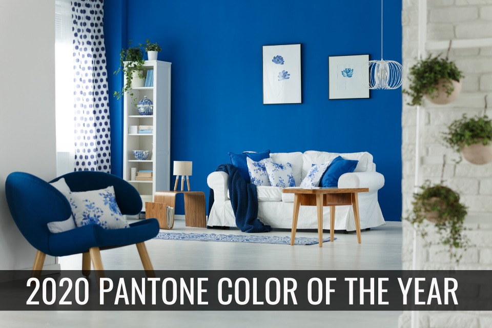 2020 Panatone Color of the Year - Classic Blue